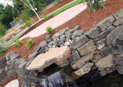 Abiqua Rock Water Feature
