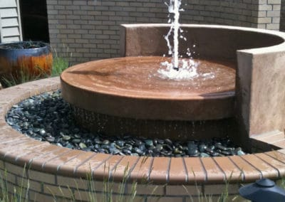 Commercial Water Fountain