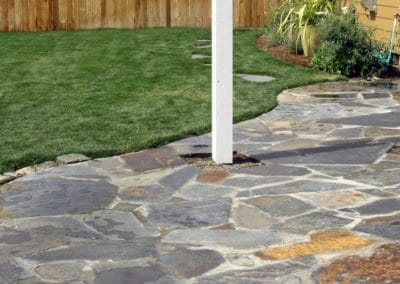 Iron Mountain Flagstone And Mortar Patio