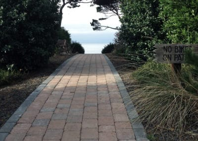 Paver Path To Beach