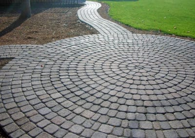 Paver Rotundo Patio and Pathway