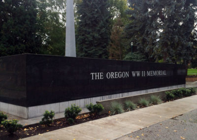 WWII Oregon War Memorial